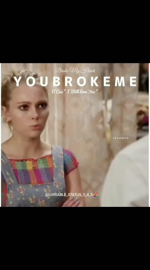 broken heart 💔💔💔                        don't leave me alone  #beatschannel #brokenheart #broken #haha-tv