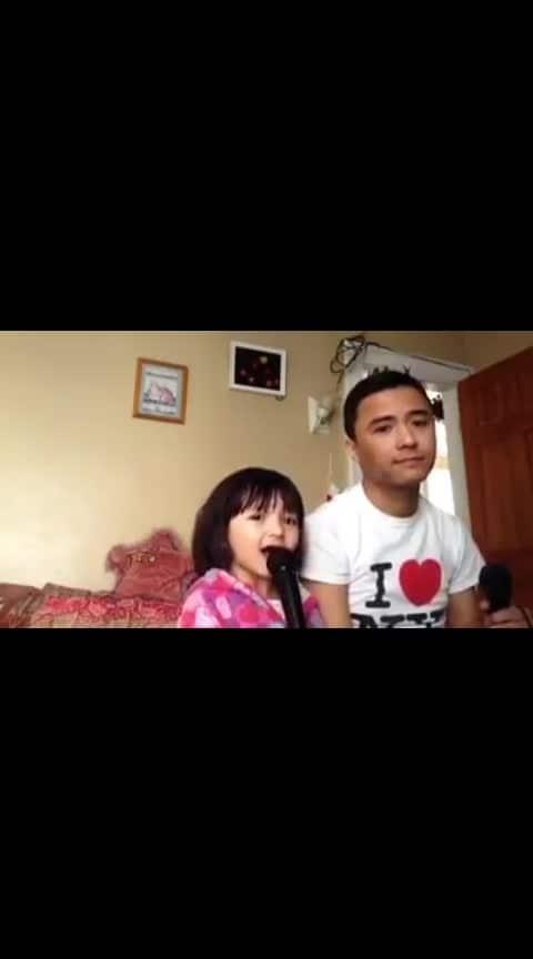 "#hidden_feeling ,#hiddentalent ""TUJHSE NARAZ NAHI ZINDAGI"" father & daughter awesome performance"