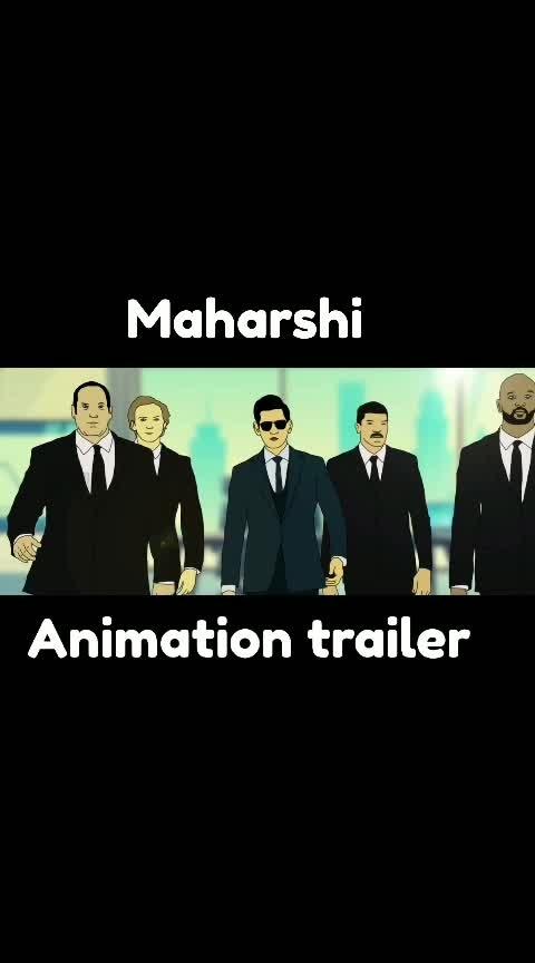 #maharshitrailer