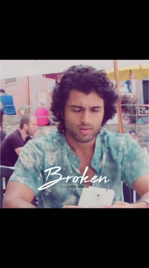 #vijay-devarakonda #broken_heart