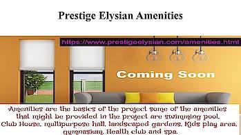 #Prestige #Elysian At https://www.prestigeelysian.com #PrestigeElysian #PrestigeGroup #Bannerghatta #Road #South #Bangalore #RealEstate