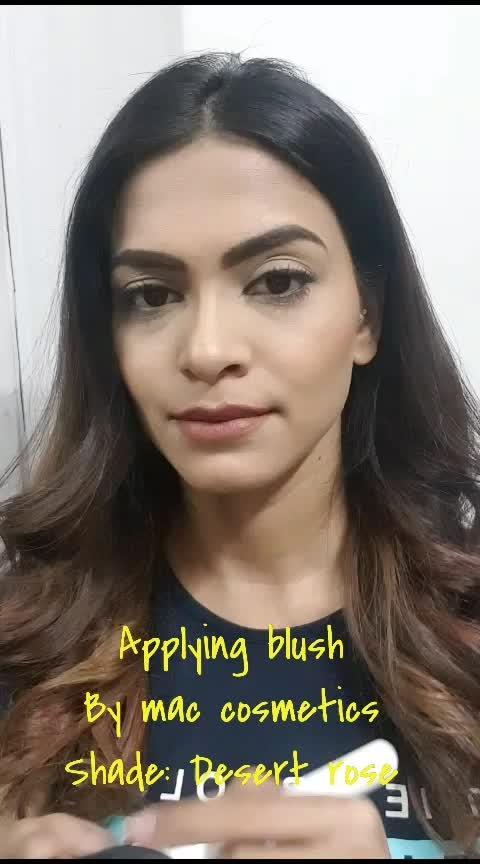 #aashimalamba #thebasicrebel #blush #makeup