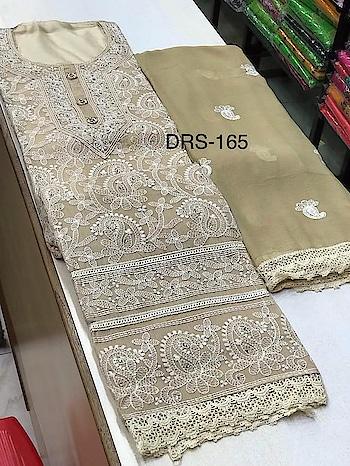 MAHIKAA COLLECTIONS LAUNCHES online selling of WOMEN FABRICS. Please click on picture or our online link below or BUY DIRECTLY FROM US USING PAYTM / BANK TRANSFER CONNECT WITH US AT info@mahikaa.in or WhatsApp : 7984456745  Chanderi silk top with work  Plain santoon silk bottom  Shiffon Dupatta with work   #saree #sareelove #sarees #fashion #sareeblouse #indianwear #onlineshopping #love #sari #indianfashion #indianwedding #handloom #sareefashion #ethnicwear #indian #sareeindia #traditional #india #lehenga #silksaree #sareesofinstagram #wedding #cottonsaree #silk #indiansaree #style #silksarees #kanchipuram #designersaree