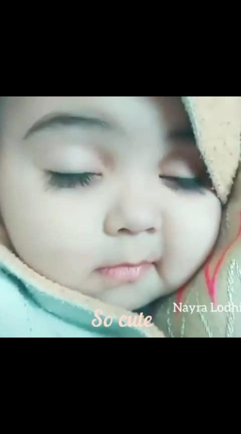 so cute baby......  #expressionqueen #cutness #cuteness-overloaded #cuteeee