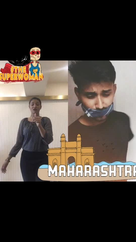 Some duet for my people #ropososticker #thesuperwoman #maharashtra