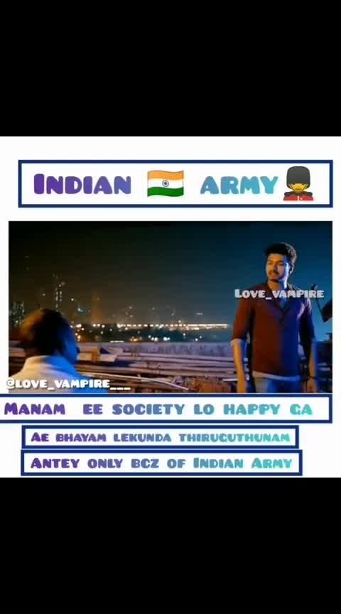 #vijay #indian_army #thupaki