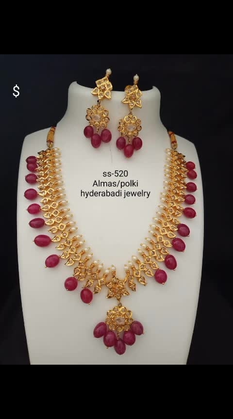#pearl jewllery #stonejewelry #stoneworkjwellery #weddingjewellery #southindianfashion No cash on delivery No retuen and replacement Intrested people can call or wats app to 8367373114