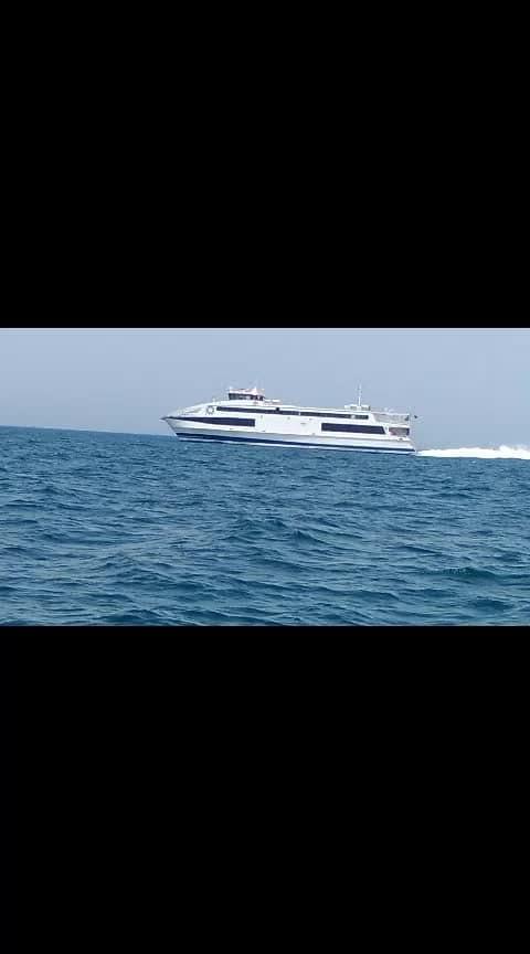 tourist ship  fr  farzana !