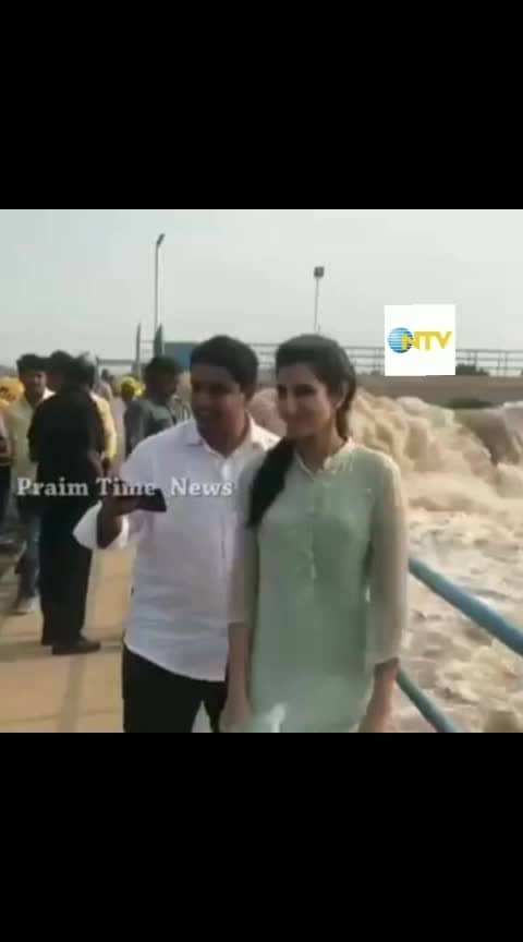 #naralokesh visits pattisema project