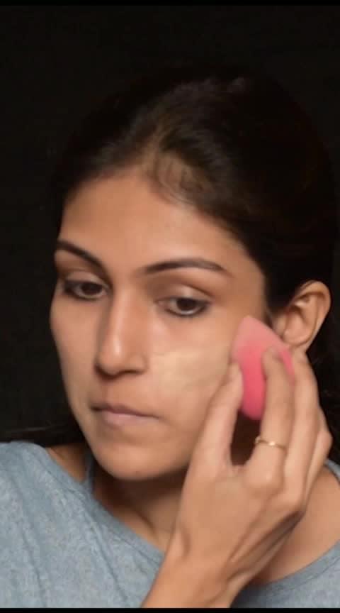 Simplest dewy makeup tutorial #makeuptutorial #dewymakeup #glowymakeup #glowingskin #makeuphacks #ropo-makeup #dewyfinish #dewyskin