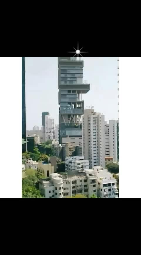 #Mukesh ambani ka home #mukeshambani #wonderful_places