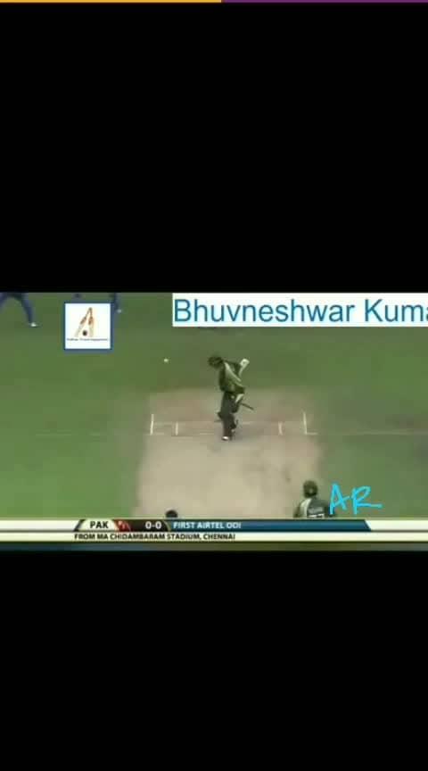 #criket #bhuvaneshwarkumar   #bowling 👌👌