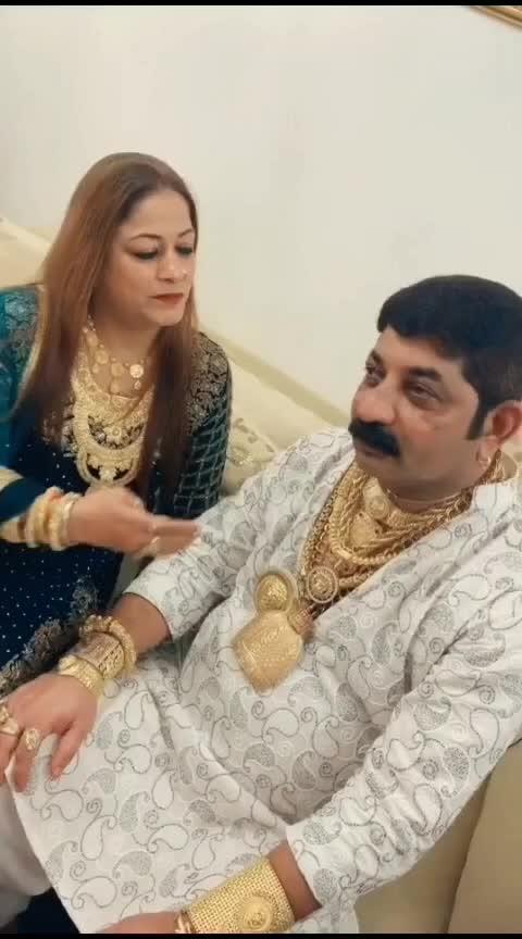 Golden Man Aur golden  women#desi-funny-comdey