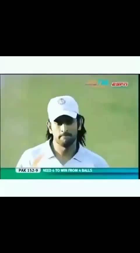 2007 india beat Pakistan win t20 world cup #indvspak #t20worldcup #roposo-worldcup #icc world cup