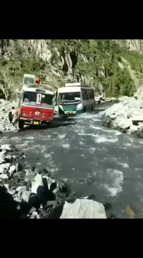 #travel #businessman #himachalpradesh #river