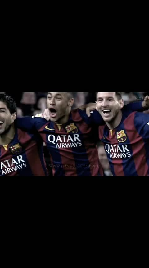 The best trio in the history of football #messi #neymar_jr #suarez #barcelona #fcb #homecoming #bestintheworld #goat #campnou