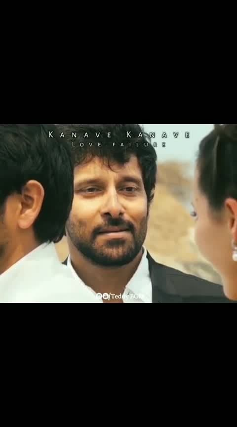 kanavae kanavae.. #david #tamilmovie #lovefailure #pain #pain-of-love #vikram #chiyan #jeeva