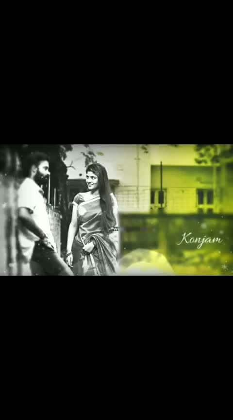 kannil yunnai alanthathu konjam😍...#kanil #unnai #konjam #love #crazylove #aishwaryarajesh #attaikathidinesh