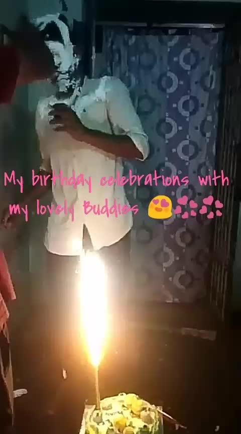 my birthday celebrations with my lovely Buddies 😍💞💟