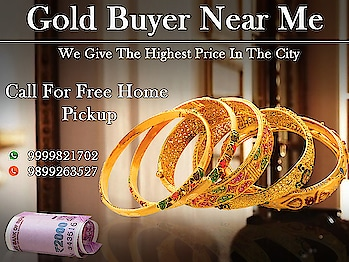 Make the most profit from selling old gold and silver items. Sell your old jewellery with the best precious metal dealer in Noida. Sell your precious metals with the renowned second-hand jewellery company cash for gold. We offer 100% current market price based on purity, and weight of the items.  https://www.cashforgolddelhincr.com/cash-for-gold-in-ashok-vihar.php