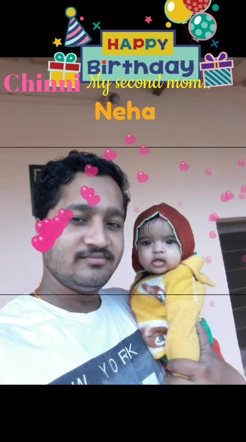 #may you forever sparkle and shine likethestar that you are. Happybirthday myprincess! love u #Neha#
