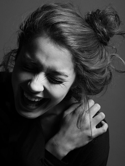 """""""She will snort, slap her knee, cry, run out of the room, haha on daily basis, she'll love to laugh."""" #laughingoutloud #captured_perfectly  #photography"""
