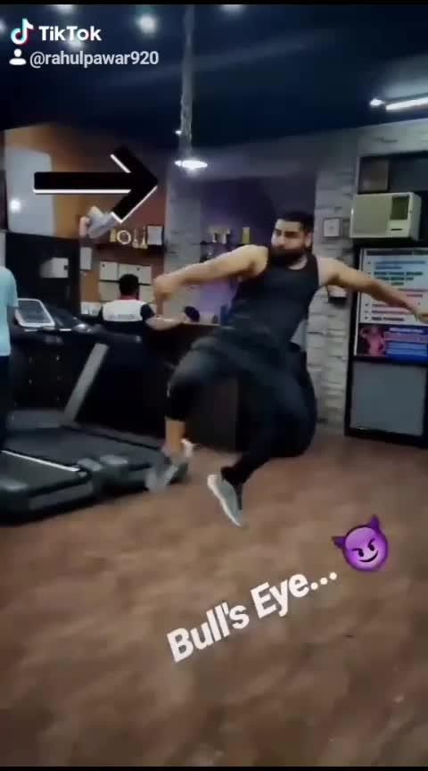 Train insane... #ropo-video #motivation #fitnessfreak #fitnessgoals #gymlovers #kicks #talent