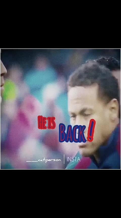 Neymar Returns❤️#neymar_jr #barcelona #messi #brazil #football #love #sportstv