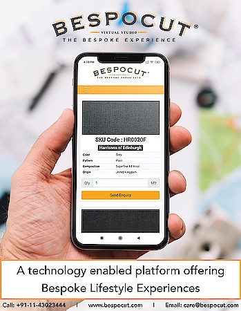 Technology Enabled Platform offering Bespoke Lifestyle Experiences  Visit www.bespocut.com  #bespocut #bespocutexperience #bespokeexperiencezone #technology #bespokelifestyleexperiences