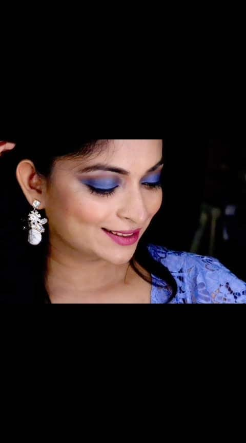 Blue Eyes & Pink Lips . #lookgoodfeelgood #roposostars #rangoli  #fashionquotient #celebrations #beats  #ootd #wow #trending #twinklewithmystyle