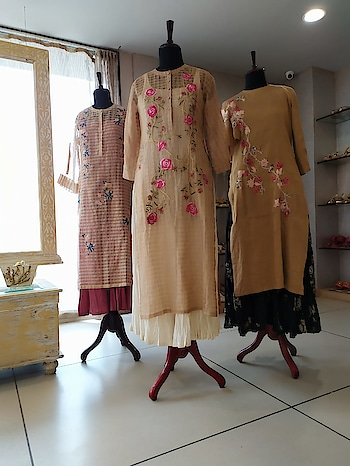 PRAMAA by Pratima Pandey exclusively at Deval The Multi Designer Store Today and Tomorrow!!!  Her beautiful signature collection for New season have arrived for limited time!!! #devalstore #ahmedabad #latestcollection #newarrivals #newcollection #designerwear #designercollection #womenswear #clothingstore #newseason #fresharrivals #newonracks