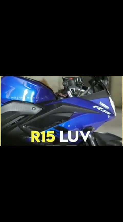 R15 #bike #bikergang #likelove #bikestunt #bikelife