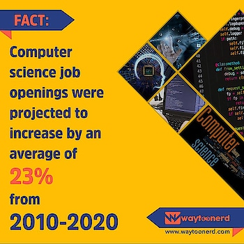 #Job Opening for #Computer Science  www.waytoonerd.com  #dailyfact #didyouknowfacts #quotes #funfacts #amazingfact #computerscience #coding #programming #technology #programmer #tech #java #interesting #motivation #awesome #quote #follow #android #instatech #technews #geek #developer #startup #gadget #factsdaily #job #work #jobvacancy