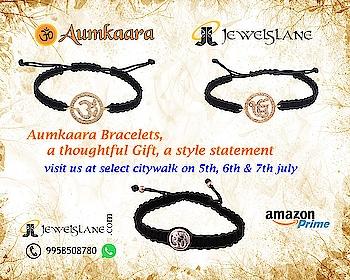 Buy Aumkaara Bracelets Online. Visit - http://bit.ly/2xvF9y2 #rakhibracelets #aumkaara bracelets #gold bracelets #gifts #rakhi