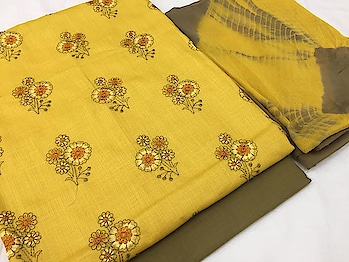 MAHIKAA COLLECTIONS LAUNCHES online selling of WOMEN FABRICS. Please click on picture or our online link below or BUY DIRECTLY FROM US USING PAYTM / BANK TRANSFER CONNECT WITH US AT info@mahikaa.in or WhatsApp : 7984456745  PERFECT MONSOON WEAR Cotton Spun Top Work Plain Cotton Bottom Chiffon Duppata in BATIk   #saree #sareelove #sarees #fashion #sareeblouse #indianwear #onlineshopping #love #sari #indianfashion #indianwedding #handloom #sareefashion #kanchipuram #indian #sareeindia #traditional #india #lehenga #silksaree #sareesofinstagram #wedding #styles #silk #indiansaree #style #silksarees #kanchipuram #designersaree