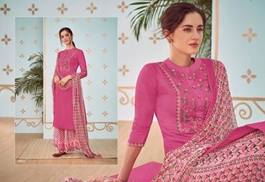 MAHIKAA COLLECTIONS LAUNCHES online selling of WOMEN FABRICS. Please click on picture or our online link below or BUY DIRECTLY FROM US USING PAYTM / BANK TRANSFER CONNECT WITH US AT info@mahikaa.in or WhatsApp : 7984456745  HEER VOL 44 BY KIMORA COTTON SATIN EMBROIDERED TOP WITH COTTON SATIN PRINTED BOTTOM , CHIFFON PRINT DUPATTA  #saree #sareelove #sarees #fashion #sareeblouse #indianwear #onlineshopping #love #sari #indianfashion #indianwedding #handloom #sareefashion #kanchipuram #indian #sareeindia #traditional #india #lehenga #silksaree #sareesofinstagram #wedding #styles #silk #indiansaree #style #silksarees #kanchipuram #designersaree