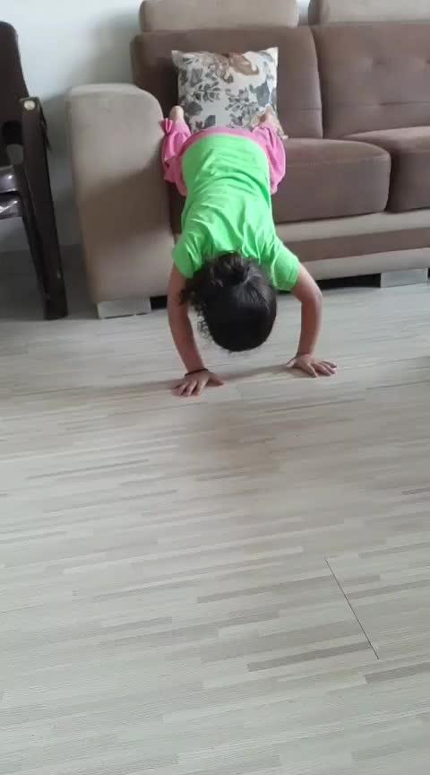 Exercise time #ropososurat #gujarat #gujju #roposo-rising-star-rapsong-roposo #@chandniruparelia #@parag1214e173