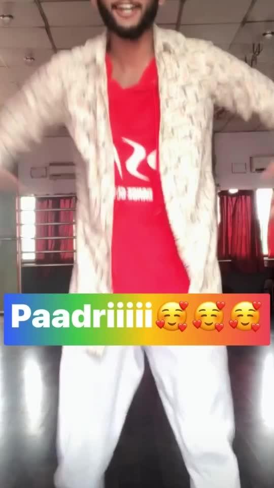 Paadriiiii #roposo #fun #dancer #danceroposo #danceing #dancinglove