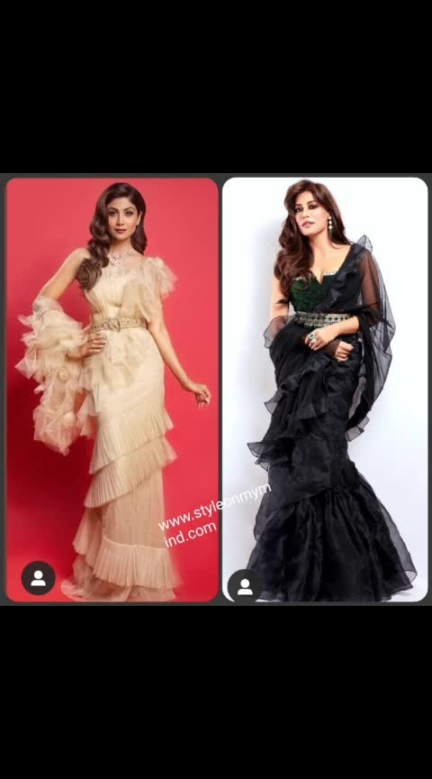 💜 STYLEONMYMIND 💜 Ruffled the right way, pl chk and follow wwwstyleonmymind.com  . #fashiontrends #fashion-diva #woman-fashion #fashion-diva #fashionablewomen #roposo-styl #stylequotient #stylishsaree #stylefortheday #trendingstyle #be-in-trend #trending look #trendydesignerdresses #glamourworld #glamourandstyleawards #glamourworld #glamorousdresses #couturedress #couturestyle #roposofashionblogger #roposo-vibes #roposofashionista #roposofashionbloggernetwork #shilpashettykundra