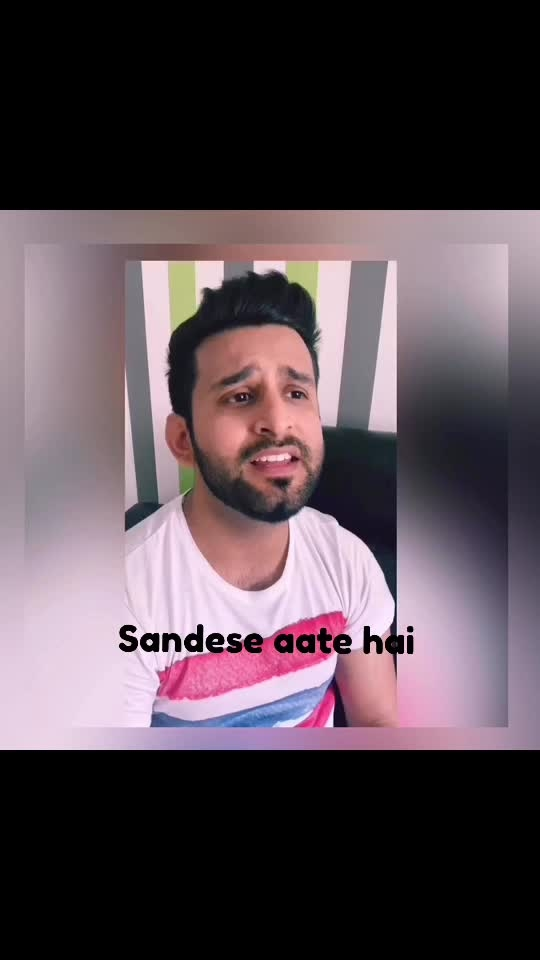 Sandese aate hai  I always want my music to connect with everybody, so that they should be able to relate to it and feel the emotions. One of the emotion that all of us goes through is the distance from our loved ones, our friends and specially our family.  This song is dedicated to everybody❤️ . . . . #love #peace #dedication #friends #lovers #family #india #parents #emotions #practice #tanpura #vocals #singing #border #movie #classicalmusic #bond #heart #bestsingers #musician #topsinger #indiansingers #punjabisingers #punjabi