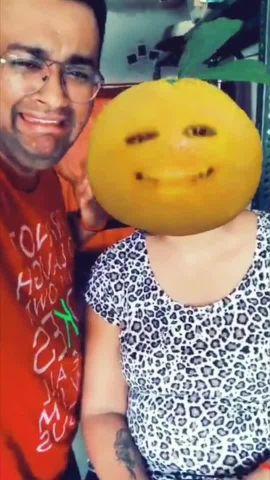 Oppooo opppooooo @jharanasheth #gujjukisena #comedy #orangeface #masti #fun