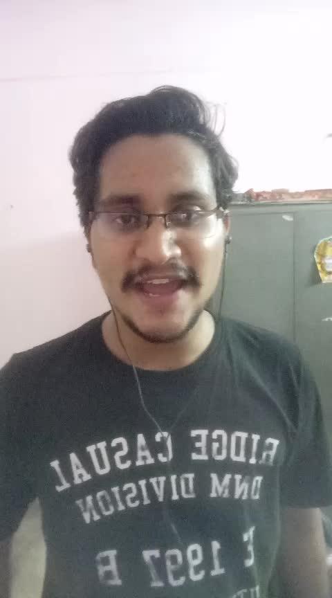 #athilokasundari #alluarjun #rakulpreetsingh #sarainodu #ropososingingstars ##newpost  #song #smule #singkaraoke #roposo #soposo #sadsong #sing