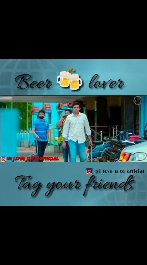 Beer lovers...................... #beerlovers #telugulovesongs