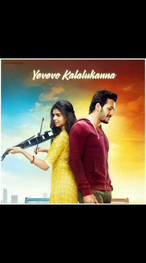 #akhilakkineni #kalyanipriyadarshan #hello #yevevokalalu #lovewhatsappstatus #lovesongs #lovewhatsappstatusvideo #sudisudheer