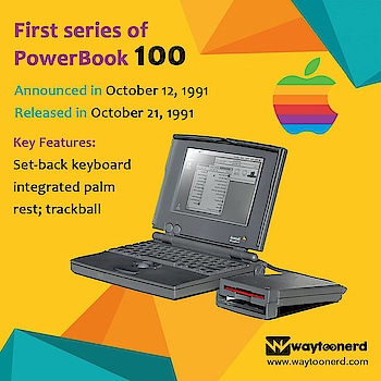 First Series of #powerbook 100  www.waytoonerd.com  #technology #tech #electronics #software #computer #gadgets #follow #android #instatech #technews #geek #developer #startup #gadget #smartphone #dailyfact #didyouknowfacts #quotes #funfacts #amazingfact #like #true #doyouknow #interesting #motivation #awesome #quote #factsonly