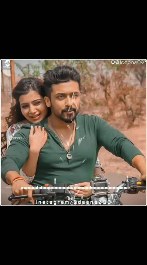 #suryasivakumar #samantharuth #nice_song