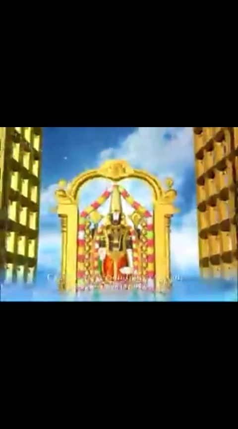 #roposo-bhakti #godsongs #godgift #venkateshwara_swamy #venkatachalapathy #roposo-god #godblessyou #godisgood #saturdaymorning #saturdaymornings