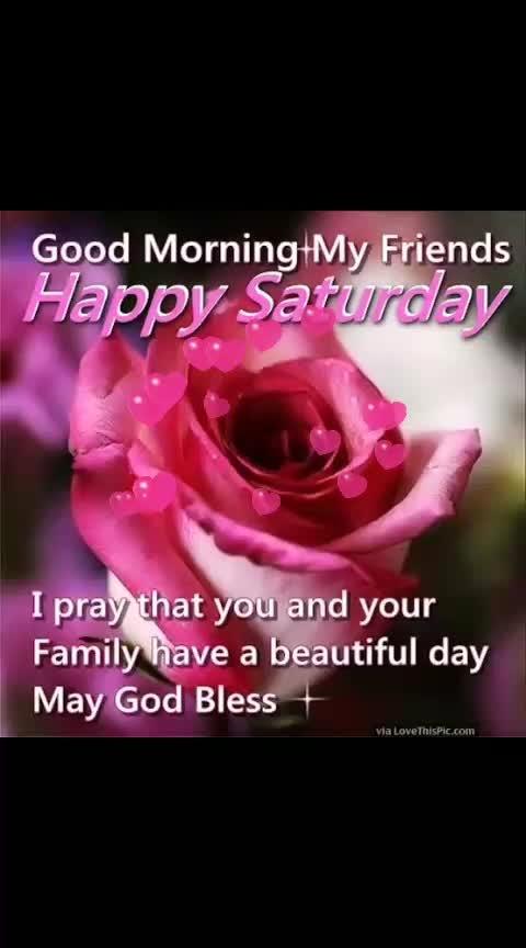 #goodmorning #happysaturday