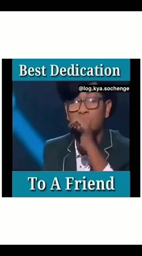 #dedication