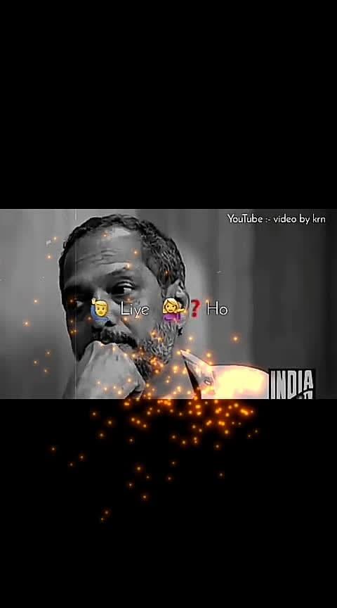 lovely 💕😍💕 #nanapatekar #inspired #love #comedy #fun #roposo-ha-ha-ha #true #me